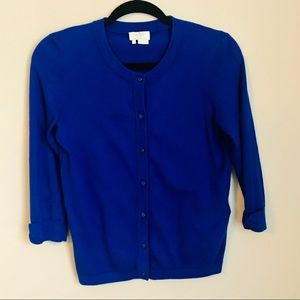 Kate Spade Royal Blue Sweater